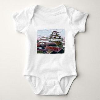 Vintage tradicional japonés de Garan Body Para Bebé