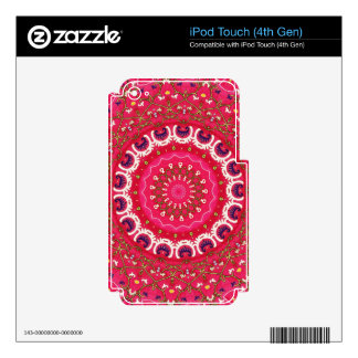 Vintage Traditional, Spiritual Turkish Folk Art Decal For iPod Touch 4G