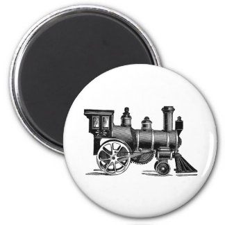 Vintage Train 2 Inch Round Magnet