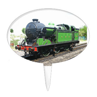 Steam Locomotive Cake Toppers | Zazzle