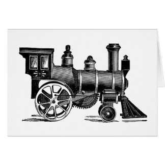 Vintage Train Greeting Cards