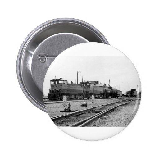 Vintage Train Engine 2 Inch Round Button
