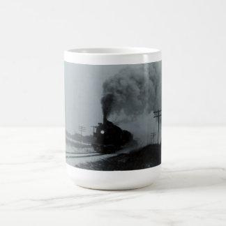 Vintage Train Engine Classic White Coffee Mug