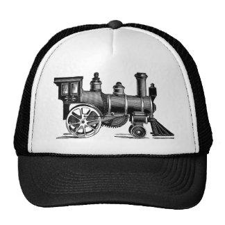 Vintage Train Trucker Hat