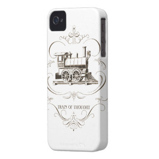 Vintage Train of Thought Case-Mate iPhone 4 Cases