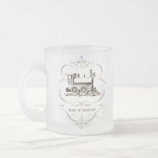 Vintage Train of Thought Coffee Mug