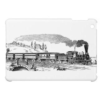 vintage Train sketch iPad Mini Cases