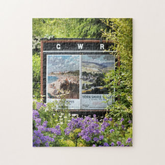 VINTAGE TRAIN STATION SIGNS JIGSAW PUZZLE