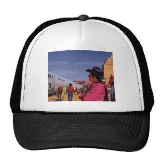 Vintage Train Travel Trucker Hat