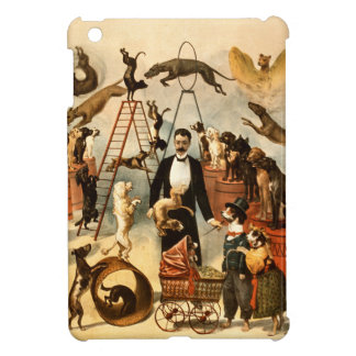 Vintage Trained Circus Dog Act Trick Dogs1899 Cover For The iPad Mini