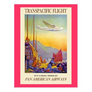 Vintage transpacific postcard