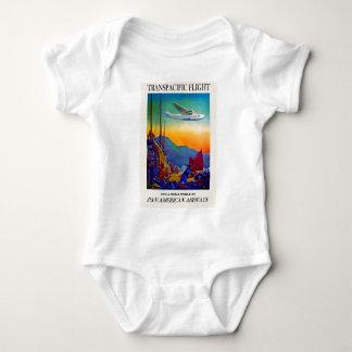 Vintage Transpacific Travel Baby Bodysuit