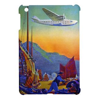 Vintage Transpacific Travel Case For The iPad Mini