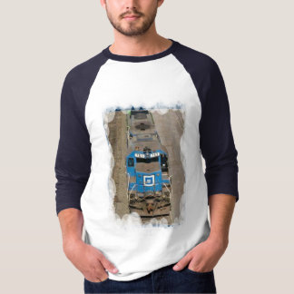 Vintage transport - Blue train T-Shirt