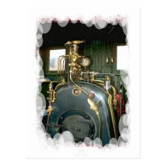 Vintage Transport - Boiler Postcard