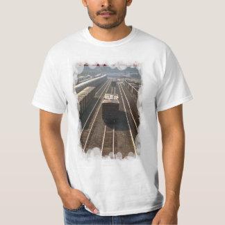 Vintage transport - Railway siding T-Shirt