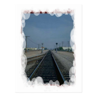 Vintage Transport - Rural halt Postcard