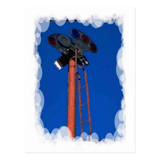 Vintage Transport - Signal mast Postcard