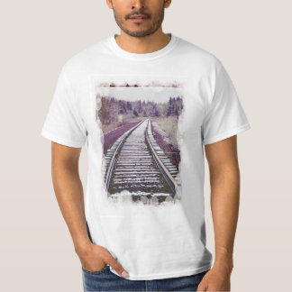 Vintage transport - Snow on the track T-Shirt