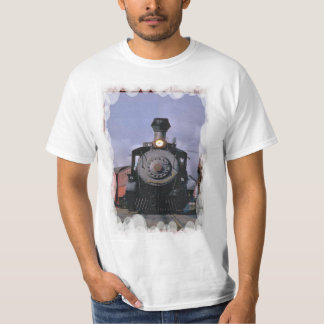 Vintage transport - Steam engine and carriages T-Shirt