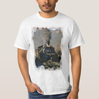 Vintage transport - Steam train T-Shirt