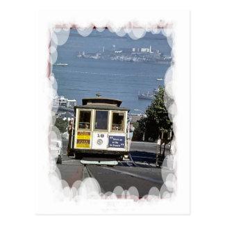 Vintage Transport -Street car Postcard