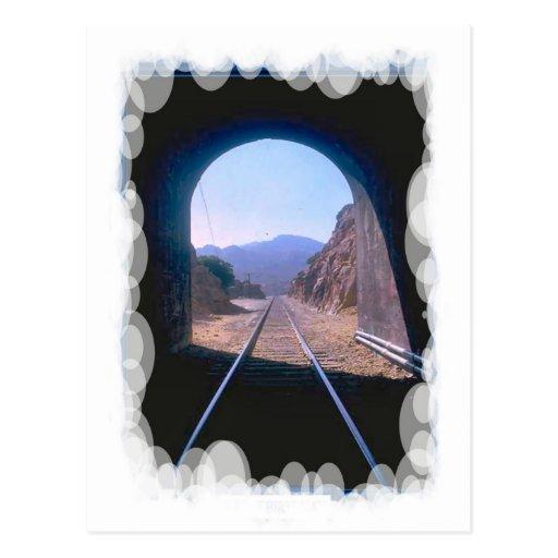Vintage Transport - Tunnel vision Postcard