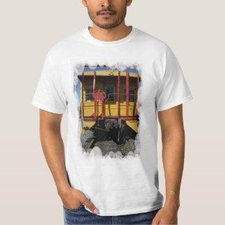 Vintage transport - Wooden railroad car T-Shirt
