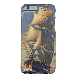 Vintage Transportation, Clipper Ships at Sea Barely There iPhone 6 Case