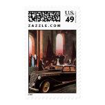 Vintage Transportation, Stretch Limo Limousine Postage