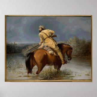 Vintage Trapper Poster