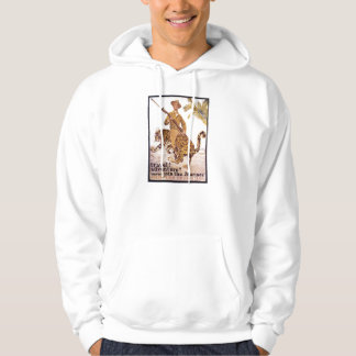 Vintage Travel Adventure Join the Marines Poster Hoodie