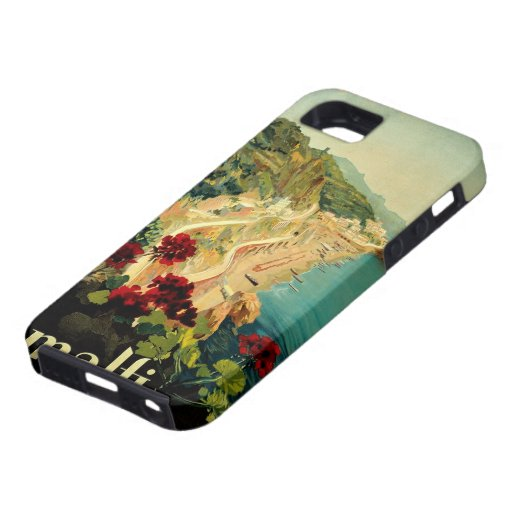 Vintage Travel, Amalfi Italian Coast Beach iPhone 5 Cases