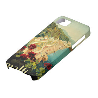 Vintage Travel, Amalfi Italian Coast Beach iPhone SE/5/5s Case