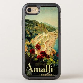 Vintage Travel, Amalfi Italian Coast Beach OtterBox Symmetry iPhone 7 Case