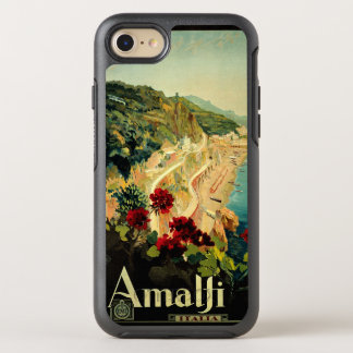 Vintage Travel, Amalfi Italian Coast Beach OtterBox Symmetry iPhone 8/7 Case
