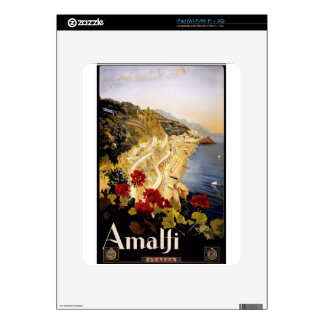 Vintage Travel Amalfi Italy iPad Decal
