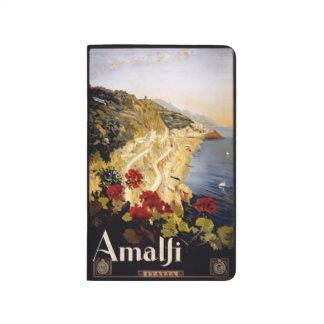 Vintage Travel Amalfi Italy pocket journal