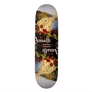 Vintage Travel Amalfi Italy skateboards