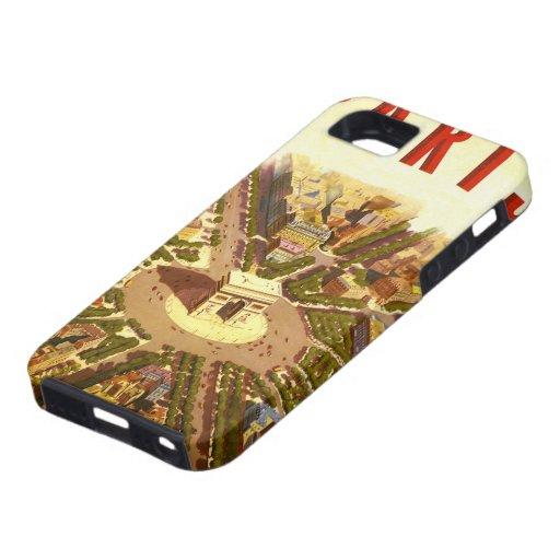 Vintage Travel, Arc de Triomphe Paris France iPhone 5 Cases