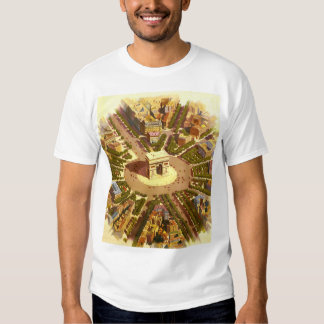 Vintage Travel, Arc de Triomphe Paris France T-Shirt