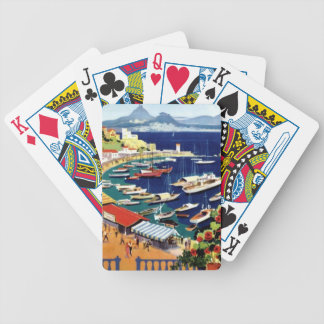 Vintage Travel Athens Greece Bicycle Playing Cards