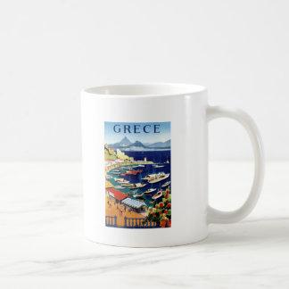 Vintage Travel Athens Greece Coffee Mug