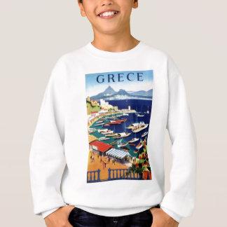 Vintage Travel Athens Greece Sweatshirt