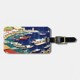 Vintage Travel Athens Greece Tag For Luggage