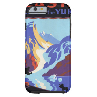 Vintage Travel , Atlin and the Yukon, Alaska Tough iPhone 6 Case