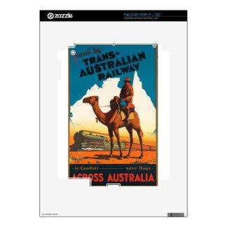 Vintage Travel Australia Skin For The iPad 2