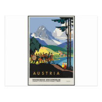 Vintage Travel Austria Postcard