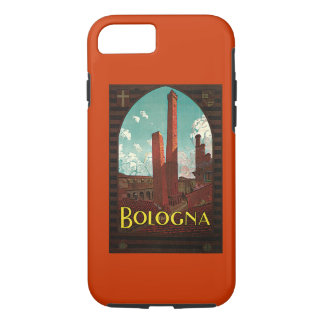 Vintage Travel , Bologna, Italy iPhone 7 Case