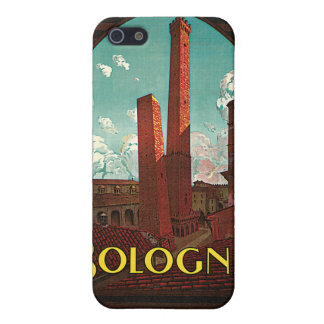 Vintage Travel , Bologna, Italy Cover For iPhone 5